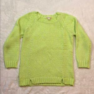 Crewcuts Neon Sweater